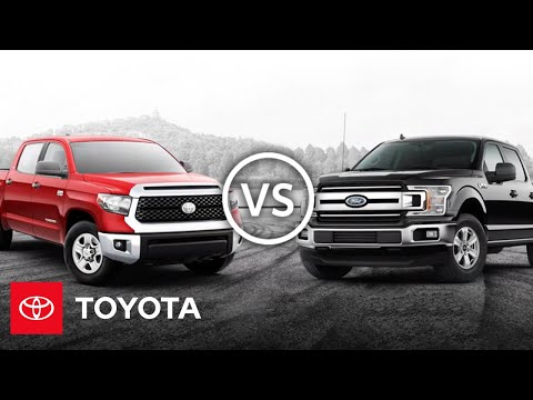2020 Tundra vs F-150 | Truck Comparison | Toyota