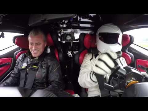 Mat LeBlanc and The Stig Drive The Aston Martin Vulcan | Top Gear