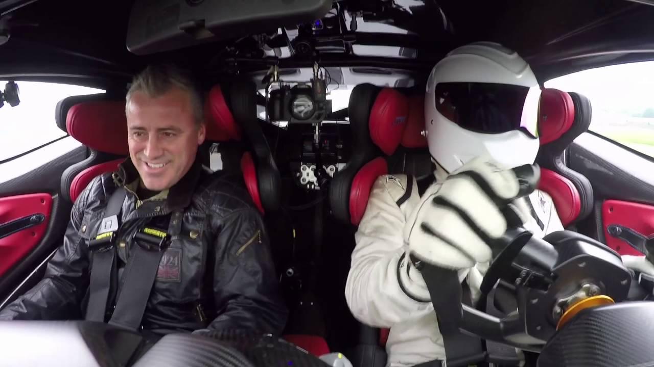 Mat Leblanc And The Stig Drive The Aston Martin Vulcan Top Gear Youtube