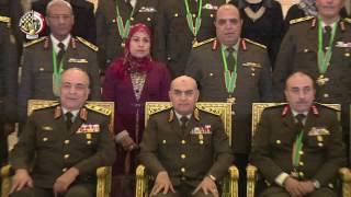 الفريق أول صدقى صبحى يكرم قادة القوات المسلحة المحالين للتقاعد