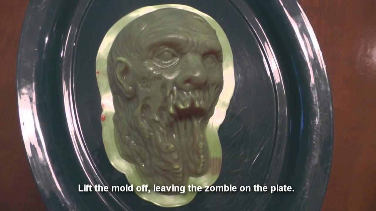 THE WALKING DEAD Zombie Gelatin Mold