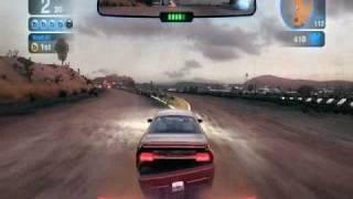 Blur PC- Gameplay na GTS 250