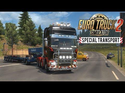 CONVOI EXCEPTIONNEL - Euro Truck Simulator 2 - Special Transport