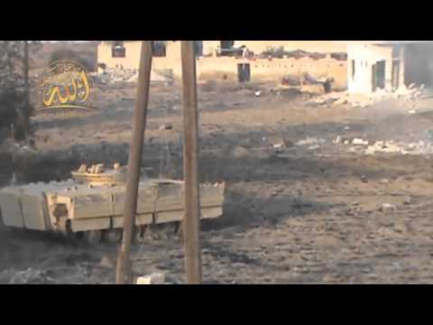 Syria Syrian rebels upgrade BMP 1 armoured infantry fighting vehicle with armour package