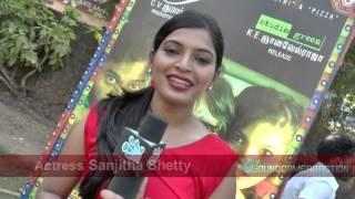 Actress Sanjitha Shetty at Soodhu Kavvum audio launch