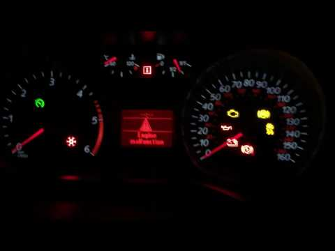 Ford Mondeo 2008 Dash Lights Malfunction