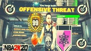 STEPHEN CURRY OFFENSIVE THREAT BUILD NBA 2K20