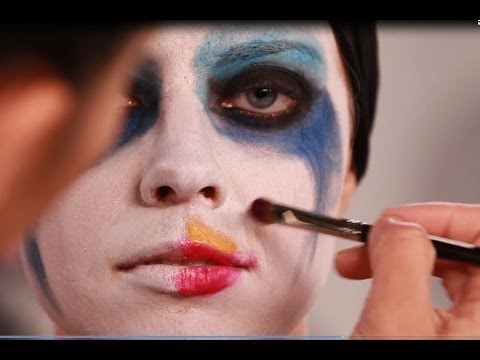 "LADY GAGA ""APPLAUSE"" MAKEUP TUTORIAL HALLOWEEN 2013"