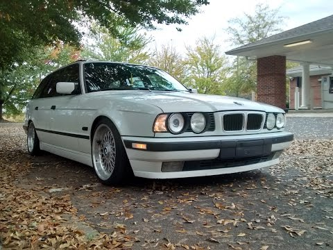 1995 525i m50 open headers start up