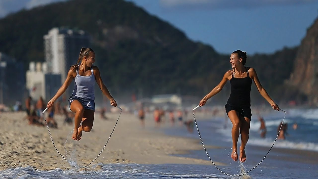 Brazil Girl Wallpaper World S Best Jump Rope Sisters Rope Skipping Duo Youtube