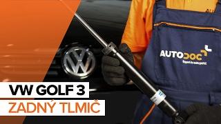 Pozrite si videoprievodcu riešením problémov s Tlmiče perovania VW