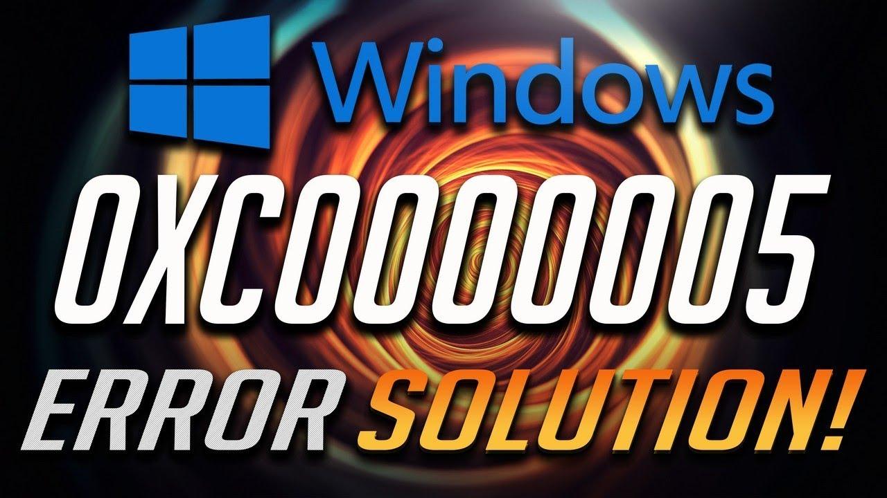 Fix Windows Update Error 0xc0000005 in Windows 10/8/7 -[Tutorial]