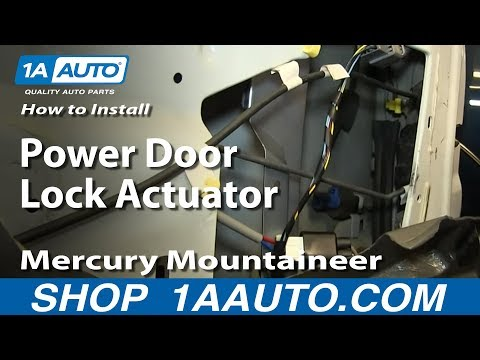how to replace door lock actuator ford expedition. Black Bedroom Furniture Sets. Home Design Ideas