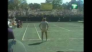 Nastase rubs out a mark (and the favor is returned)