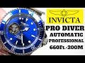(4K) INVICTA PRO DIVER AUTOMATIC Men's Watch Review Model: 20434