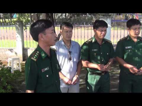 Thăm bộ đội biên phòng tỉnh Bình Phước