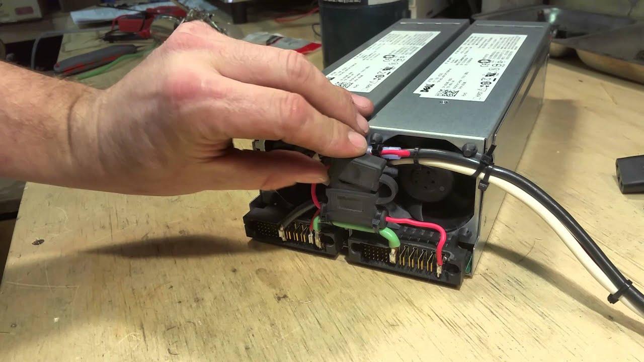 [SCHEMATICS_4PO]  Dell Z750P-00 750 Watt 62 Amp Powersupply mod #2 addendum - YouTube | Dell Poweredge 2950 Wiring Diagram |  | YouTube