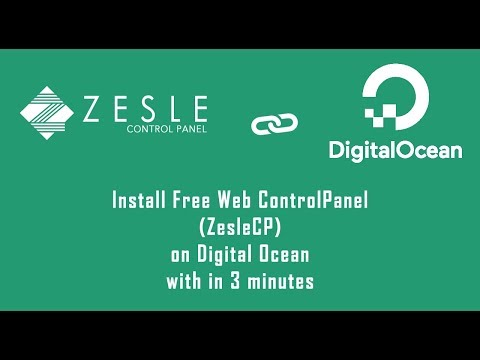 How to Install ZesleCP Free Web Control Panel on Digital Ocean