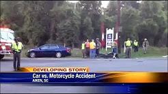 Breaking on 6: Motorcycle vs. Car Wreck in Aiken County