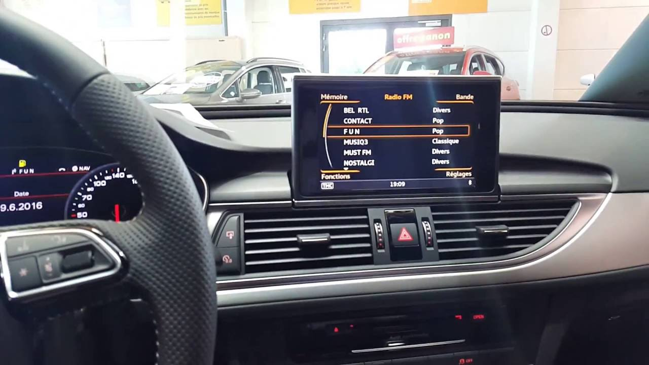 audi a6 2016 s line 190cv audi premium sound system youtube. Black Bedroom Furniture Sets. Home Design Ideas