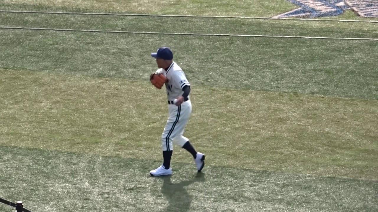 中塚政幸72歳 元気なバリバリ キャッチボール - YouTube