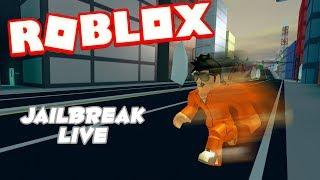 ROBLOX LIVESTREAM #45 Jailbreak (Jailbreak) Autres jeux Venez me rejoindre!!