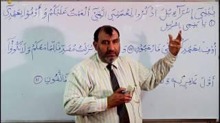 Arabic Grammar Lecture 69 (Urdu)