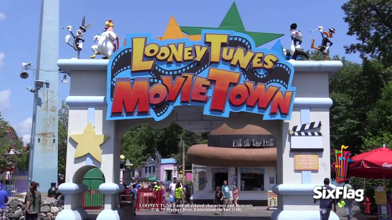 looney tunes movie town youtube