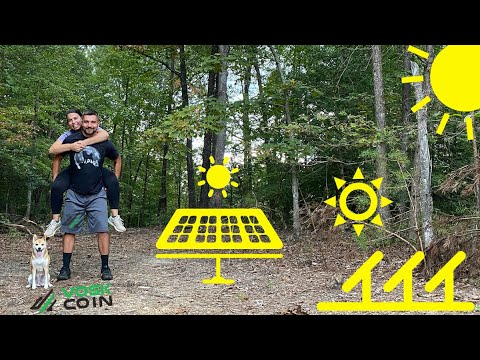 Building A SOLAR POWERED Bitcoin Crypto Mining Farm | My Rough Plans