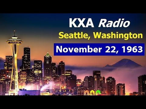 11/22/63 BULLETINS FROM KXA-RADIO IN SEATTLE, WASHINGTON