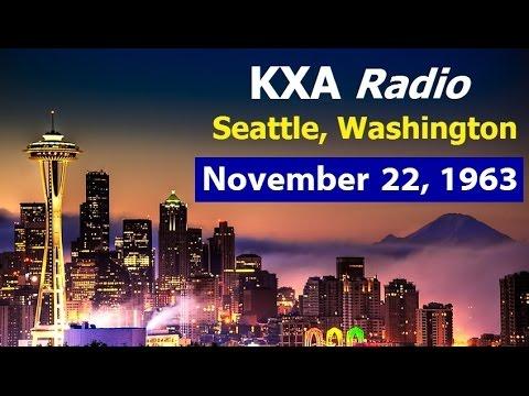 11/22/63 BULLETINS FROM KXA-RADIO IN SEATTLE, WASHINGTON