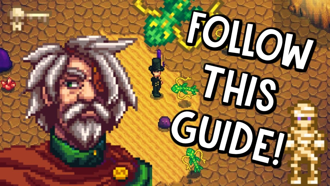THE BEST SKULL CAVERN GUIDE FOR STARDEW VALLEY!