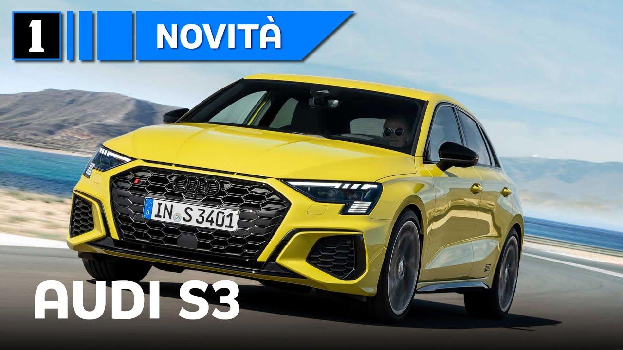 Audi S3 2020 | Pronta a lottare con A35 AMG e Serie 1 M35i