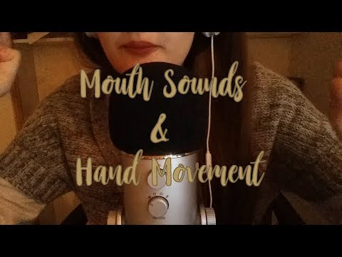 ASMR FR - Mouth Sounds & hand movements | Ear eating, Trigger words, Whispering, Inaudible ....