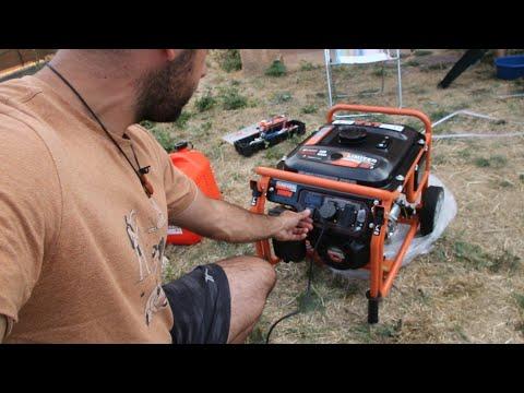 237 - Nos hacemos con un generador eléctrico y un soldador de electrodos y tig