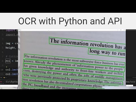 OCR Text Recognition With Python And API (ocr.space)
