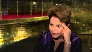 Dilma fica nervosa e se irrita ao falar sobre vídeo dos Correios