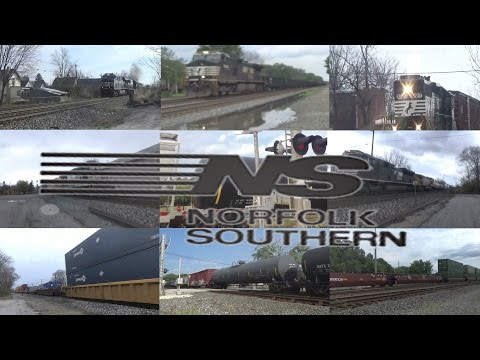 Norfolk Southern Music Video - Paint it Black