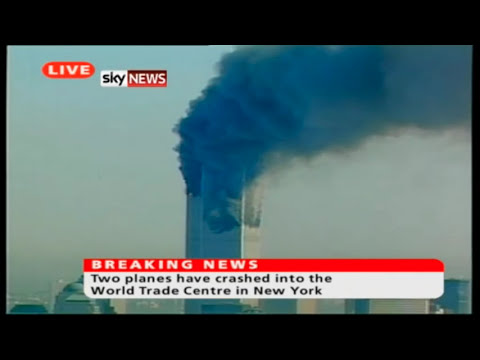 Sky News UK September 11th 2001 Studio Output - 9/11