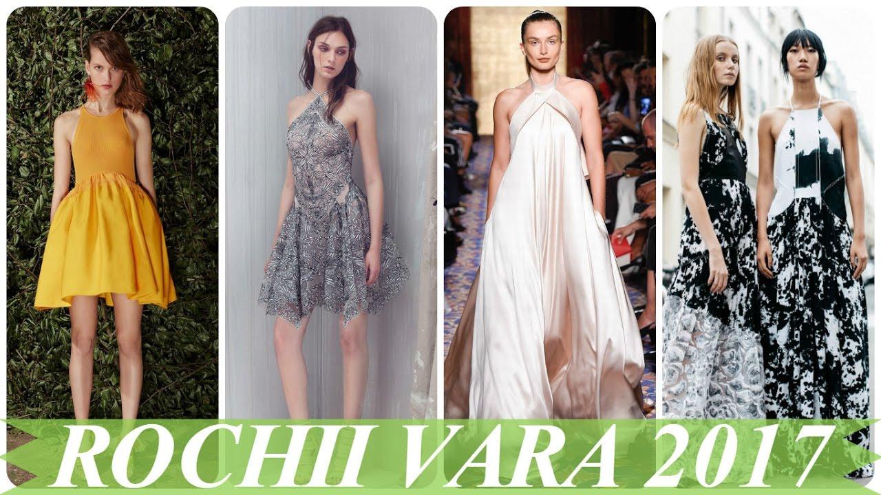 Modele De Rochii De Vara Elegante 2017 Youtube