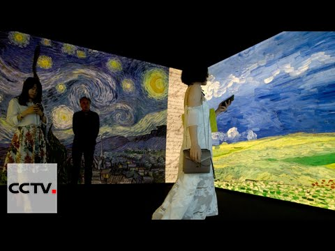 Meet Van Gogh: Interactive exhibition opens in Beijing