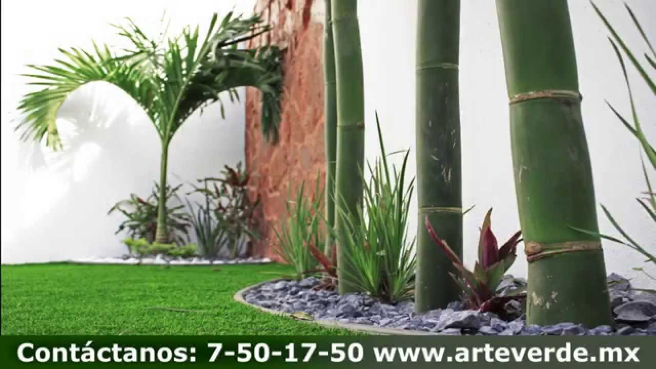 Arte verde superficies decoraci n y exteriores youtube for Decoracion patios exteriores
