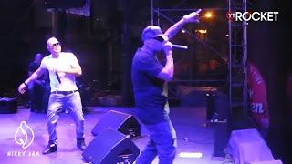 Nicky Jam Enloquece Junto a su Público ( Improvisación en Tarima 2013 ) @NickyJamPr