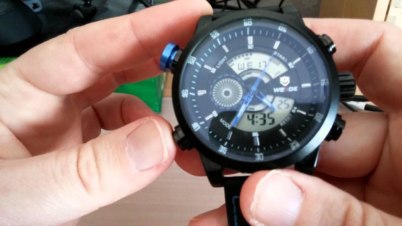 Большой выбор оригинальных часов weide. Купить качественные наручные часы с гарантией 6 месяцев. Доставка по всей украине. ☎ (067) 764-18-34.