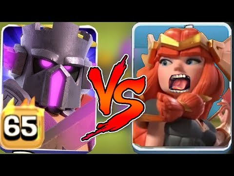 VALK QUEEN Vs. PEKKA KING!!