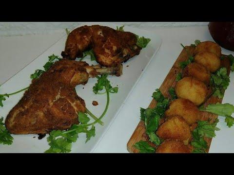 دجاج-مقرمش-اكلة-صيفية-بامتياز-cuisse-de-poulet-croustillant-façon-kfc