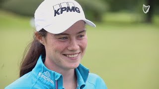 WATCH: Leona Maguire on life as a pro golfer