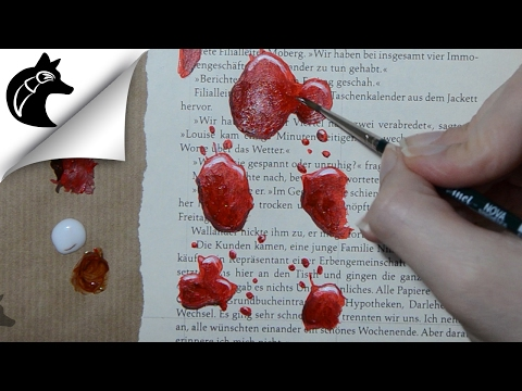 Painting Blood With Acrylics thumbnail
