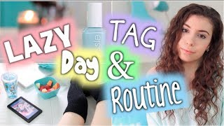 Lazy Day TAG & Morning Routine | BeautyTakenIn Thumbnail