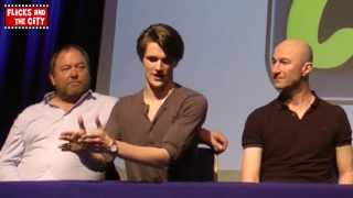 game of thrones wales comic con panel eugene simon mark addy kristian nairn gemma whelan